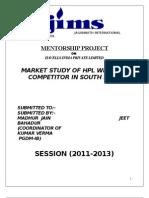 Jeet Mentership Report