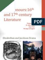 Elizabethan and Jacobean Drama
