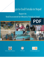 Need Assesment of Obstetric Fisutla in Nepal