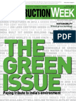 'The Green Issue' on Construction Week – June 2012