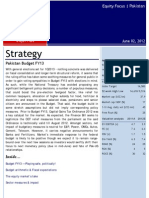 Strategy Pakistan Budget FY13 EF