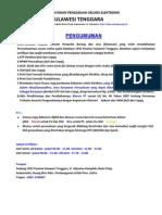 Syarat Verifikasi 2012