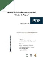 Perfeccionamiento Musical Arjona 2012