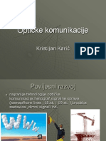 Optičke komunikacije, opticka vlakna, povijest opticke komunikacije
