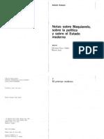 Gramsci Antonio- Notas sobre Maquiavelo, Política y el Estado Moderno