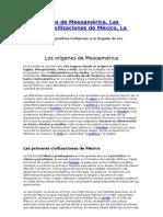Origenes Mesoamérica