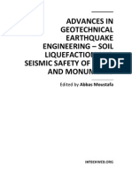 Advances in Geotechnical Earthquake Engineering - Soil Liquefaction and Seismic Safety of Dams and Monuments
