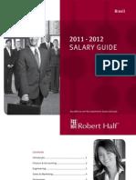 Robert Half Guia Salarial 2011 2012