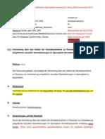 KontaktverbotVO Senats-Begründung kommentiert