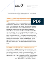 Selected Testimonies of Sinai Victems - PHR-I June 2012