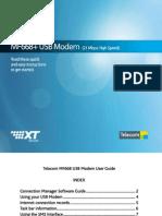 ZTE MF668 Quick Start Guide
