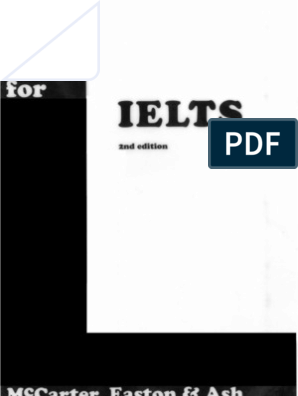A Book for Ielts | International English Language Testing