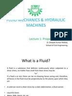 Fluid Mechanics & Hydraulic Machines - 1