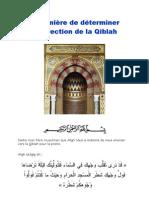 Comment déterminer la direction de la Qiblah