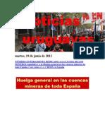 Noticias Uruguayas Martes 19 de Junio Del 2012