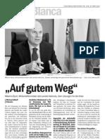 Interview Wirtschaftsminister Maximo Buch