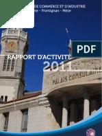 RAPPORT D'ACTIVITÉ 2011 WEB