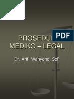 PROSEDUR medikolegal