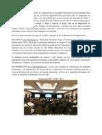LISTADO DE CONFERENCIAS DE SEGURIDAD INFORMÁTICA A NIVEL MUNDIAL