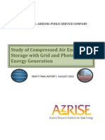 Study of Compressed Air Energy