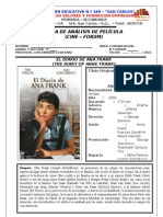 FICHA DE ANÁLISIS DE PELÍCULA EL DIARIO DE ANA FRANK