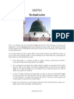 The Rajab Letter