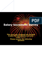 Salary Increment Survey 100