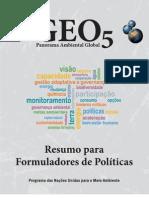 Geo5 Resumo Formuladores Politicas