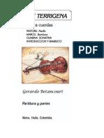 Suite Terrigena No. 1. PASTORIL. Pasillo.