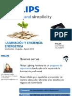 Catalogo phillips - Iluminación y Eficiencia Energética