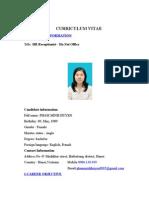 Curriculum Vitae Ford