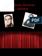 Os Projectos Setembrista e Cabralistaa[1]
