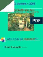 PHMSA 2005 OQ Update Presentation