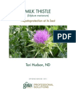 A Research Review of Milk Thistle