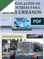 HOMOLOGACIÓN DE CARROCERÍAS PARA BUSES URBANOS