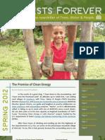 """""""Forests Forever"""" Digital Spring Newsletter"""