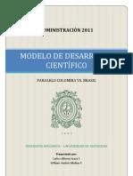 Modelo de Desarrollo Tecnológico Colombia-Brasil