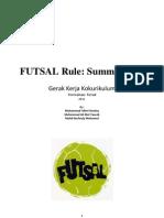 Futsal Rule