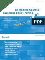 Cluster Optimization Training Course4_Backstage Skills Training