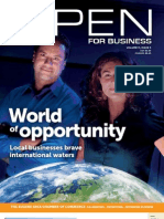 Open For Business Magazine - June/July 12 Issue