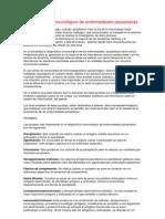 Diagnóstico inmunológico de enfermedades parasitarias