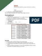 File Organisation+Some Short Notes