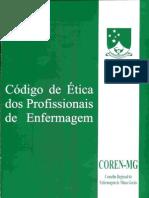Código Ética dos profissionais técnicos em enfermagem
