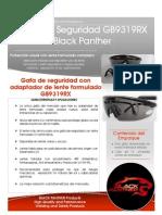 Ficha Tecnica Gafa Gb9319rx b. p.