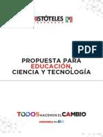 Propuesta de Educación, Ciencia y Tecnología