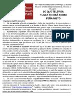 Cartel Informativo Veracruz