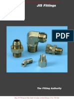 16C3T4S Male Elbow 30 Flare - BSPT Parker Fitting