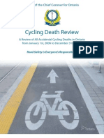 Coroner's Report on Cycling