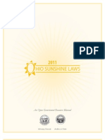 2011 Sunshine Laws Manual