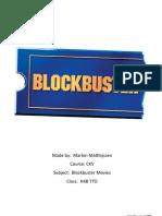 Blockbuster Movies